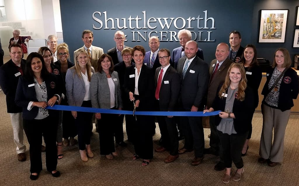 Shuttleworth ribbon cutting Oct _18